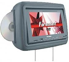 "Farenheit HRD-9GR Подголовники 9"" с DVD/SD/USB"