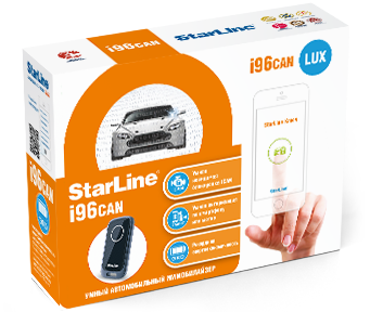 Иммобилайзер Starline i96 CAN Lux , частота 2,4ГГц