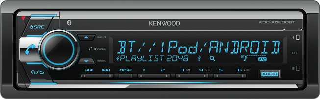 Kenwood KDC-X5200BT CD-рессивер CD/MP3/BT/USB